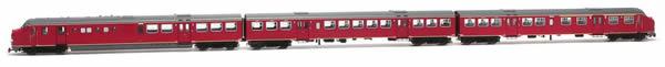 Artitec 24.350.01 - Dutch Diesel Railcar Plan U 115 of the NS