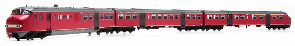 Artitec 24.356.01 - Dutch Diesel Railcar Plan U 114 of the NS