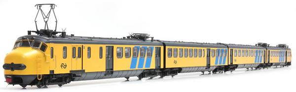 Artitec 24.403.01 - Dutch Electric Locomotive Hondekop 4 nr 771, Reclamebanen, L-sein, ATB