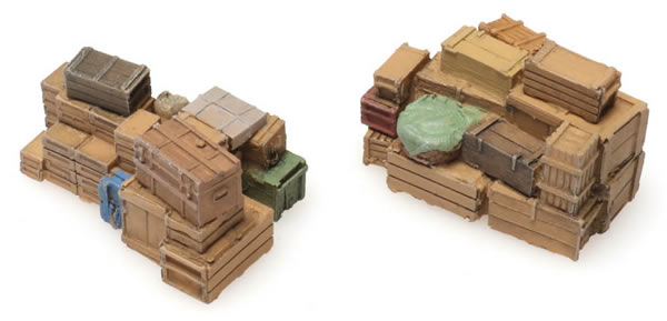 Artitec 28.118 - Cargo for Box Car: general cargo