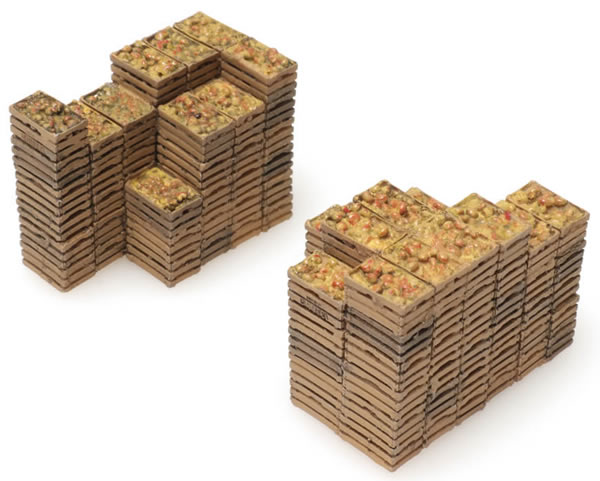Artitec 28.121 - Cargo for Box Car: fruit crates