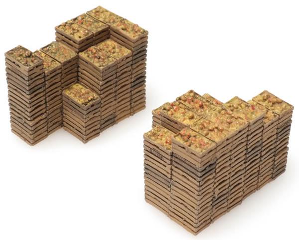 Artitec 28.121 - Cargo for Box Car: fruit crates