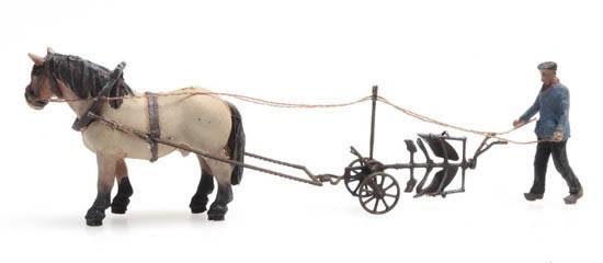 Artitec 312.018 - Horse and plough