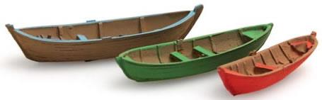 Artitec 316.04 - Old fashion Rowboats (3 pieces)