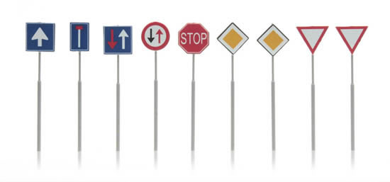 Artitec 316.047 - Dutch Traffic Signs (9 pieces)