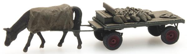 Artitec 316.051 - Coal cart with Horse