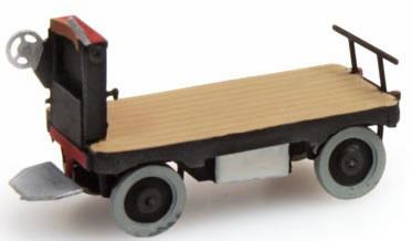 Artitec 316.13-BK - Electric platform Truck black
