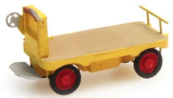 Artitec 316.13-YW - Electric platform Truck yellow