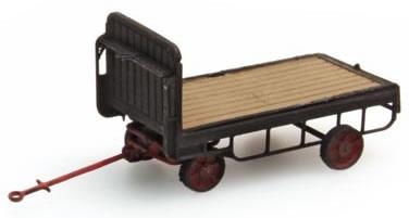 Artitec 316.14-BK - Trailer for platform Truck, black