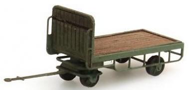 Artitec 316.14-GN - Trailer for platform Truck, green