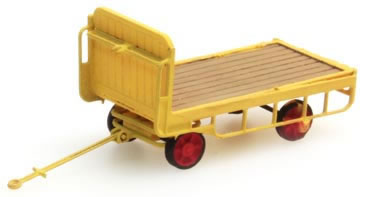 Artitec 316.14-YW - Trailer for platform Truck, yellow