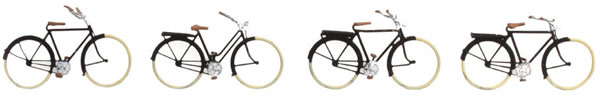 Artitec 322.001 - German bicycles 1920-1960