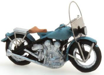 Artitec 387.04-BL - Harley-Davidson LIBERATOR motorcycle (blue civilian-version)