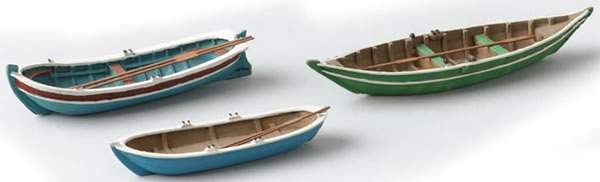 Artitec 387.08 - Old fashion Rowboats (3 pieces)
