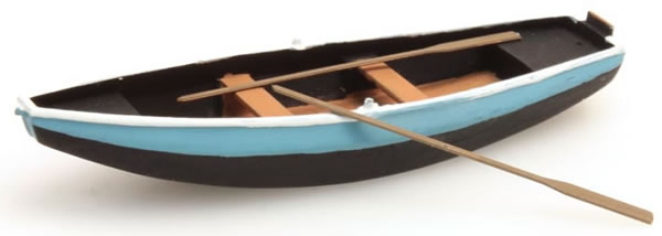 Artitec 387.09-BL - Rowboat (Steel) Blue