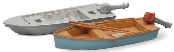 Artitec 387.10 - Modern Angler Boats (2 pieces)