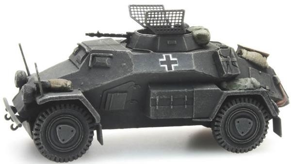 Artitec 387.105-GR - German Army Sd. Kfz 221 4-wheel MG34