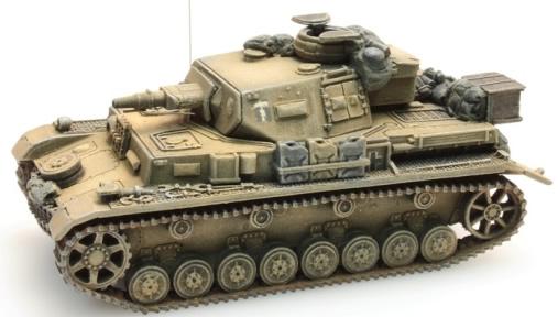 Artitec 387.107-YW - German Army PzKampfwg IV F1 Africa corps