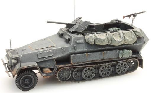 Artitec 387.111-GR - German Army Sd. Kfz 251/10B 3.7-Pak Gr