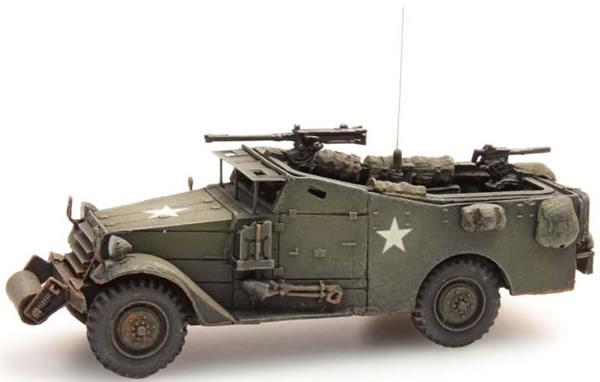 Artitec 387.114 - US/UK M3A1 White scout car