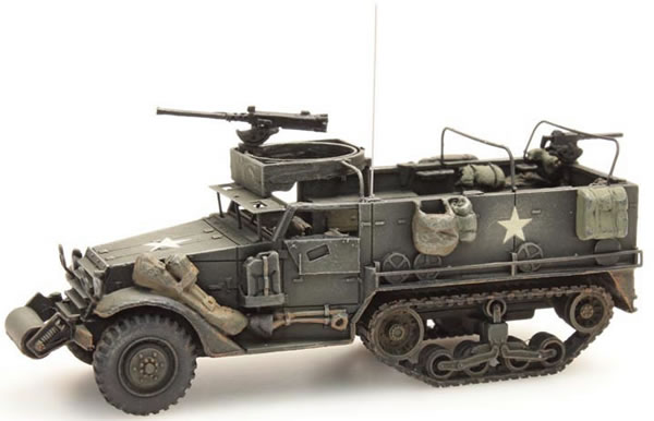 Artitec 387.115 - US Half Track M3A1 M2 MG