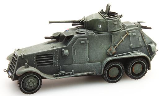 Artitec 387.128 - Dutch Landsverk Armored Vehicle. L-181 M36 39 Mob.