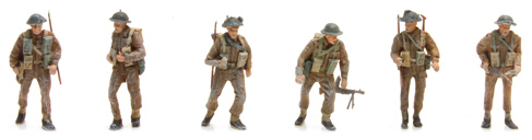 Artitec 387.133 - UK Infantry  ( 6 Fig.)