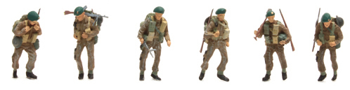Artitec 387.134 - UK Commando ( 6 Fig.)