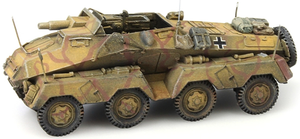 Artitec 387.142 - German Army Sd. Kfz. 233 8-Rad 75 mm Kanonne
