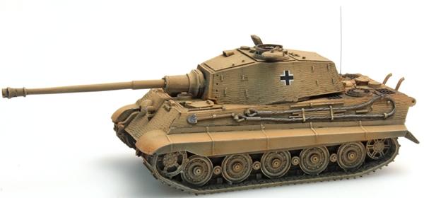 Artitec 387.18-YW - German Army Tiger II Henschel w.Zimmerit, yellow