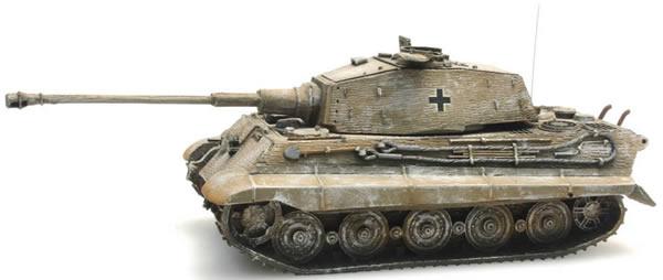 Artitec 387.19-WY -  German Army Tiger II Hensch w. Zimmerit, yellow winter camo