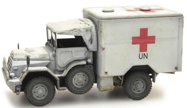 Artitec 387.195 - Dutch DAF YA 126 Red Cross Truck UNIFIL