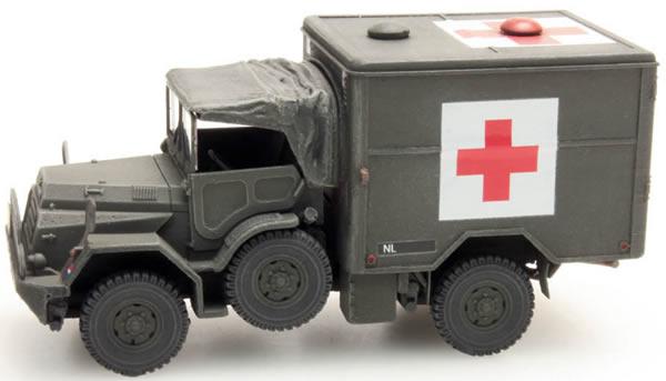 Artitec 387.197 - Dutch DAF YA 126 Red Cross Truck