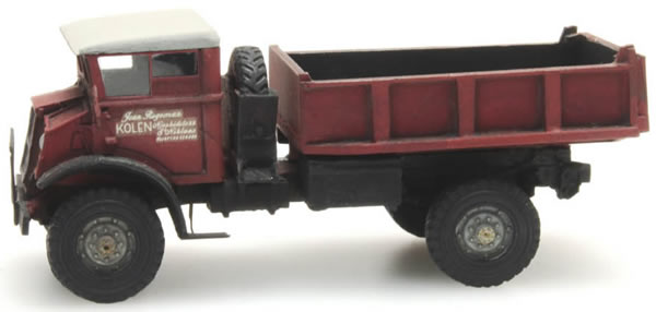Artitec 387.202 - Chevrolet 3T Jean Roggeman Dumptruck CIVIL