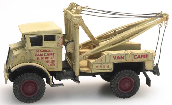 Artitec 387.204 - Chevrolet 3T  Van Camp  Wrecker CIVIL