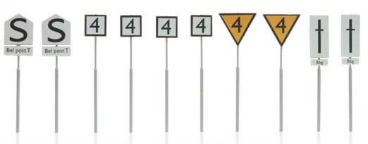 Artitec 387.211 - European railway signs yard (10 pieces)