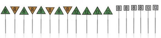 Artitec 387.214 - European railway Speed signs  (18 pcs)