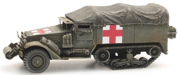 Artitec 387.232 - US HALFTRACK M3A1 Ambulance