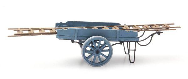 Artitec 387.24-BL - Ladder Cart, blue