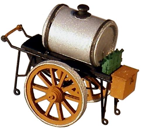 Artitec 387.25-SR - Oil pushcart (silver)