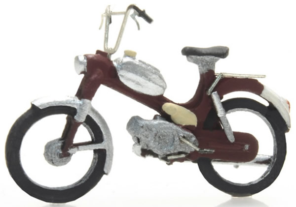 Artitec 387.266 - Motorcycle: Puch red