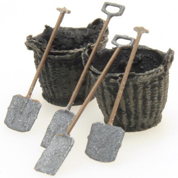 Artitec 387.277 - Coal baskets and tools