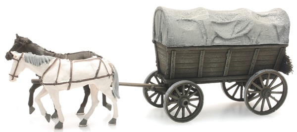Artitec 387.285 - Farm Wagon with Tarp