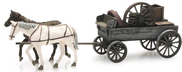 Artitec 387.286 - Wagon with 2 Horses