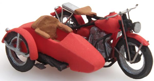 Artitec 387.29 - US Liberator motor red + sidecar