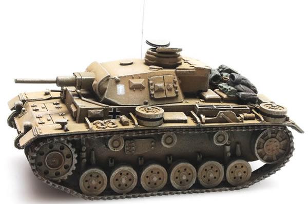 Artitec 387.306 - German Panzer III Version G Afrikakorps