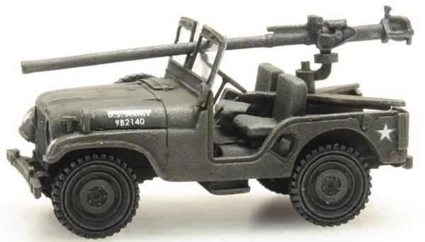 Artitec 387.307 - US M38 Jeep + 106mm AT Gun