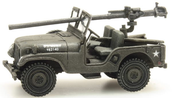 Artitec 387.307 - US M38 Jeep + 106mm AT Gun