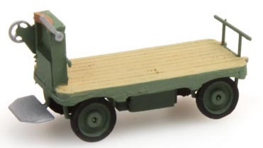 Artitec 387.31-GN - Electric station-platform truck (green)