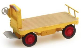 Artitec 387.31-YW - Electric station-platform truck (yellow)
